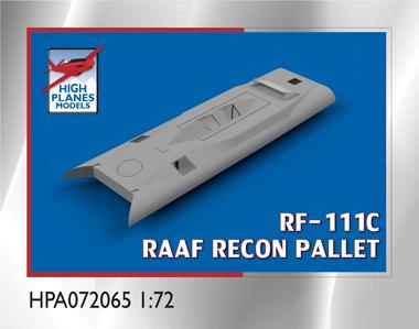High Planes RF-111C Reconnaissance Pallet Accessories 1:72