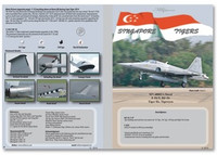 MILIVERSE MV-48002A F-5S/T, RF-5S Tiger IIs, Tigereyes 1:48 Decals (MV-48002A)