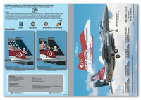 MILIVERSE MV-48003-1  RSAF F-15SG Eagle 428th FS (Peace Carvin V 5th Anninversary) 1:48 Decals