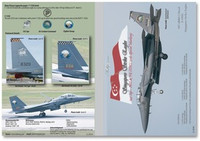 MILIVERSE MV-48003-2 RSAF F-15SG Strike Eagle 1:48 Decals