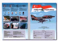 MILIVERSE MV-72001 RSAF A-4 Skyhawks Singapore 1:72 DECAL (MV-72001