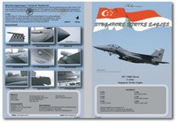 MILIVERSE MV-72003 RSAF F-15SG Singapore Strike Eagles 1:72 DECAL (MV-72003)