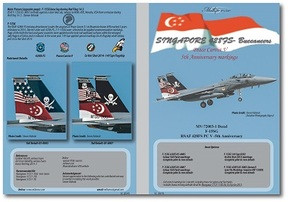 MILIVERSE MV-72003-1 F-15SG RSAF 428FS PC V-5TH ANNIVERSARY 1:72 DECAL (MV-72003-1)