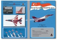 MILIVERSE MV-72004-1 RSAF F-16C Falcon Singapore Black Knights 2014 1:72 DECAL (MV-72004-1)