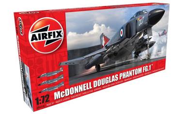 Airfix McDonnell Douglas FG.1 Phantom - Royal Navy 1:72 Scale Model Kit (A06016)