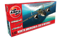 Airfix A06015 North American B25C/D Mitchell 1:72 Scale Model Kit