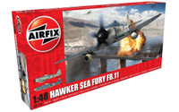 Airfix Hawker Sea Fury FB.II 1:48 Scale Model Kit (A06105)