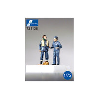 PJ Productions RAF Pilot & Mechanic (WWII)  Figures 1:72