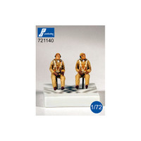 PJ Productions US Navy Pilots WWII  Figures 1:72