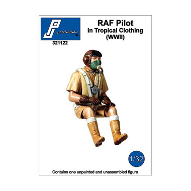 PJ Productions RAF Pilot in Tropical Clothing (WWII) Figure 1:32 (PJP321122)