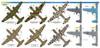 FCM Douglas A-20 B / C / J USAAF, SAAF, FAB Decals 1:48