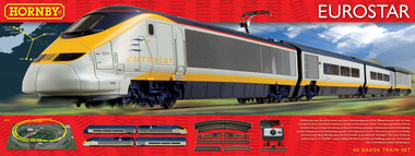 Hornby Eurostar Train Set 00 Scale (R1071)