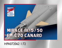 High Planes Dassault Mirage FW C70 Canard Accessories 1:72 (HPA072062)