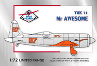 High Planes Racer Yak 11 Mr Awesome T-33 tail