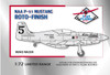High Planes Racer P-51 Mustang Roto-Finish