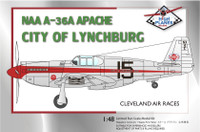 "High Planes North American A-36 Apache Racer ""City of Lynchberg"" Kit 1:72"