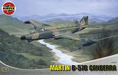 Airfix Martin B-57B Canberra 1:48 Scale Model Kit (A10104)