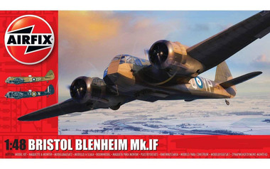 Airfix A09186 Bristol Blenheim Mk.IF 1:48 Scale Model Kit (A09186)