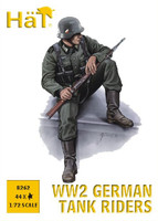 HaT 8262 WW2 German Tank Riders  Figures 1:72 Scale