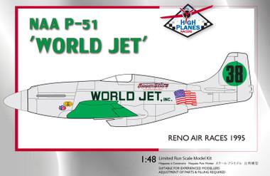 High Planes World Jet Griffon Mustang