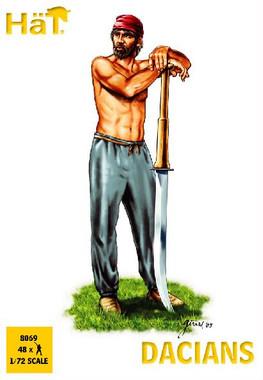 HaT 8069 Dacians Figures 1:72 Scale (HAT08069