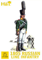 HaT 8072 Napoleonic 1805 Russian Grenadiers/Guards  Figures 1:72 Scale