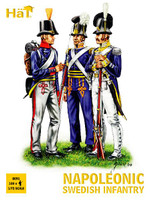 HaT 8091 Napoleonic Swedish Infantry  Figures 1:72 Scale
