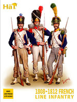 HaT 8095 Napoleonic 1808-1812 French Infantry  Figures 1:72 Scale