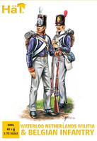 HaT 8096 Napoleonic Netherlands Militia Figures 1:72 Scale
