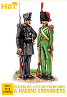HaT 8097 Napoleonic Lutzow Freikorps Figures 1:72 Scale