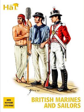 HaT 8098 Napoleonic British Sailors and Marines Figures 1:72 Scale
