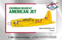 High Planes Grumman Bearcat Reno Racer American Jet