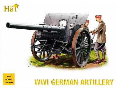 HaT 8109 WWI German Artillery Figures 1:72 Scale