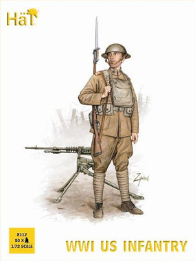 HaT 8112 WWI US Infantry Figures 1:72 Scale