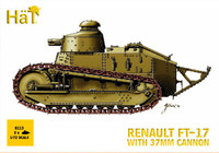 HaT 8113 FT-17 Renault with 37mm cannon  Figures 1:72 Scale
