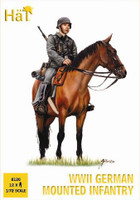 HaT 8120 WWII German Mounted Troops  Figures 1:72 Scale