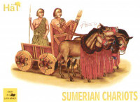 HaT 8130 Sumerian Chariot  Figures 1:72 Scale
