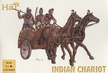 HaT 8143 Indian Chariot Figures 1:72 Scale