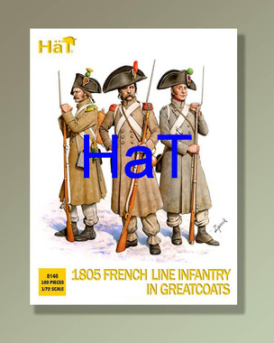 HaT 8146 1805 French in greatcoats Figures 1:72 Scale