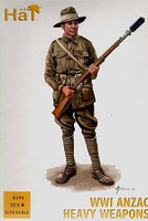 HaT 8190 WWI ANZAC Heavy Weapons  Figures 1:72 Scale