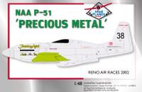 High Planes Racers Mustang Precious Metal