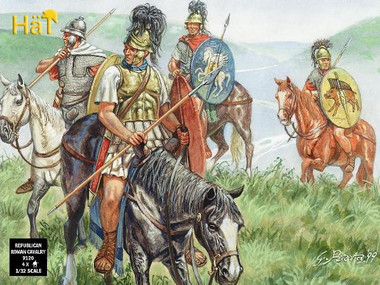 HaT 9021 Roman Cavalry  Figures 1:32 Scale