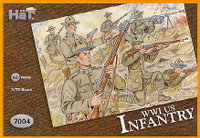 HaT 7004 WWI US Infantry Figures 1:72 Scale