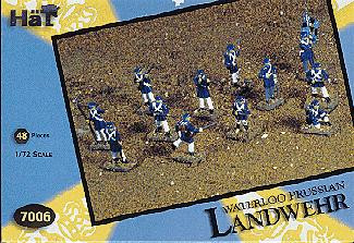 HaT 7006 Waterloo Prussian Landwehr Figures 1:72 Scale (HAT07006)