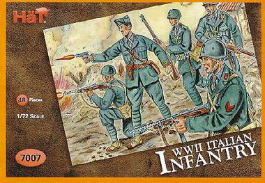 HaT 7007 WWII Italian Infantry Figures 1:72 Scale