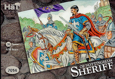 HaT 7014 Sheriff of Nottingham Figures 1:72 Scale (HAT07014)