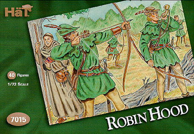 HaT 7015 Robin Hood Figures 1:72 Scale (HAT07015)