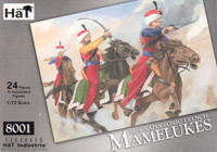 HaT 8001 Napoleonic French Mamelukes  Figures 1:72 Scale
