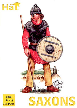 HaT 6006 Saxons Figures 1:72 Scale