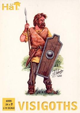 HaT 6008 Visigoths Figures 1:72 Scale